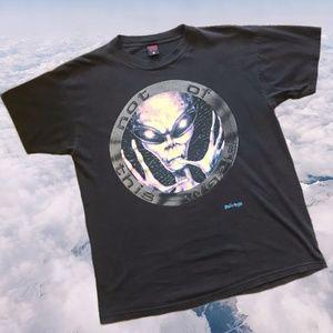 Vintage Alien Fashion Victim T-Shirt